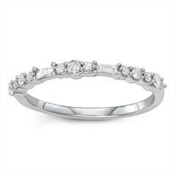 Simply Vera Vera Wang 14k Gold 1/3 Carat T.W. Diamond Anniversary Ring deals at $560