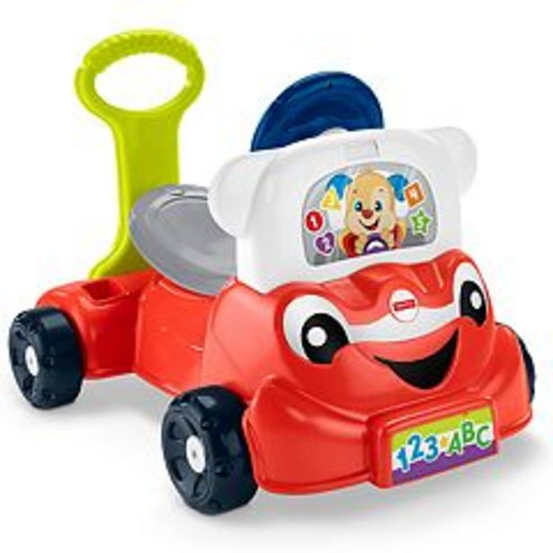 Fisher-Price Laugh & Learn 3-in-1 Smart Car deals at $42.49