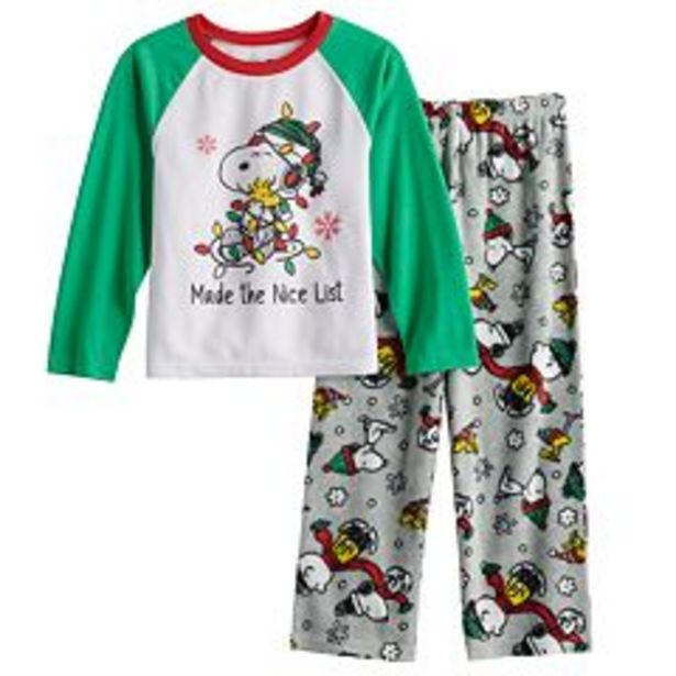 Boys 4-12 Jammies For Your Families® Peanuts Pajama Set deals at $26.6