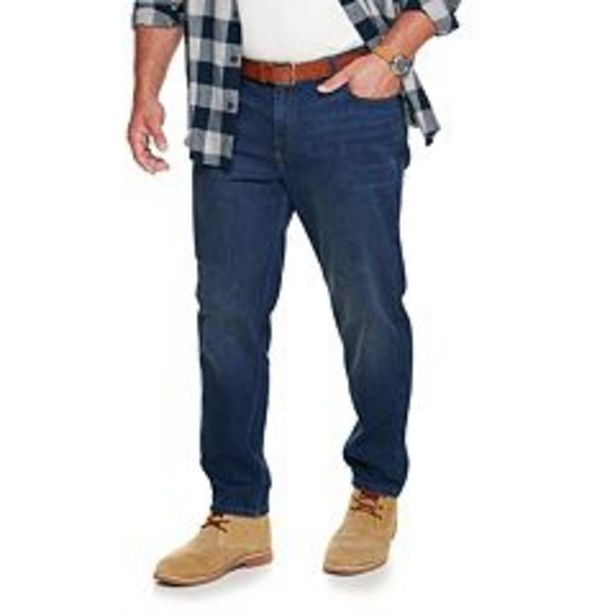 Big & Tall Sonoma Goods For Life® Regular Fit Tapered Jeans deals at $21.99