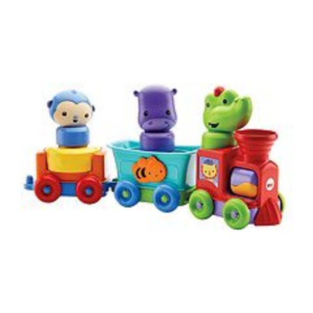 Fisher-Price Silly Safari Rattle & Roll Animal Train deals at $12.74