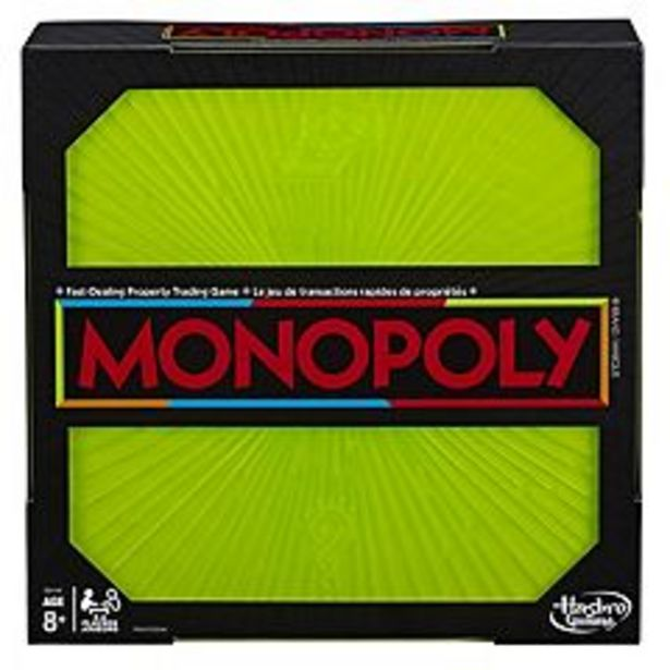 Monopoly Neon Pop Board Game for Kids by Hasbro deals at $16.49