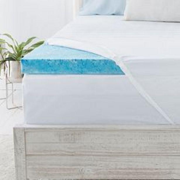 Serta® 3-inch Soothing Cool Gel Memory Foam Mattress Topper deals at $119.99