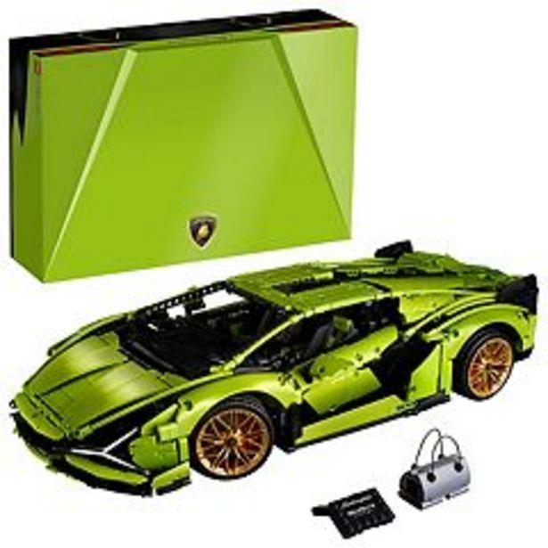LEGO Technic Lamborghini Sián FKP 37 (42115) Model Car LEGO Set (3,696 Pieces) deals at $379.99