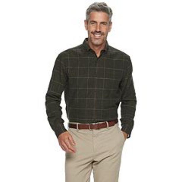 Men's Croft & Barrow® Extra-Soft Flannel Button-Down Shirt deals at $7.2