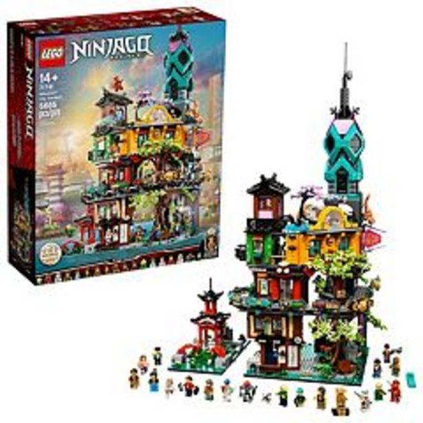 LEGO NINJAGO City Gardens 71741 LEGO Set (5,685 Pieces) deals at $299.99