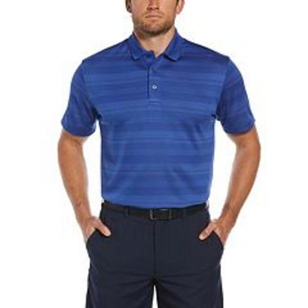 Men's Grand Slam DriFlow Regular-Fit Striped Jacquard Performance Golf Polo deals at $34.99
