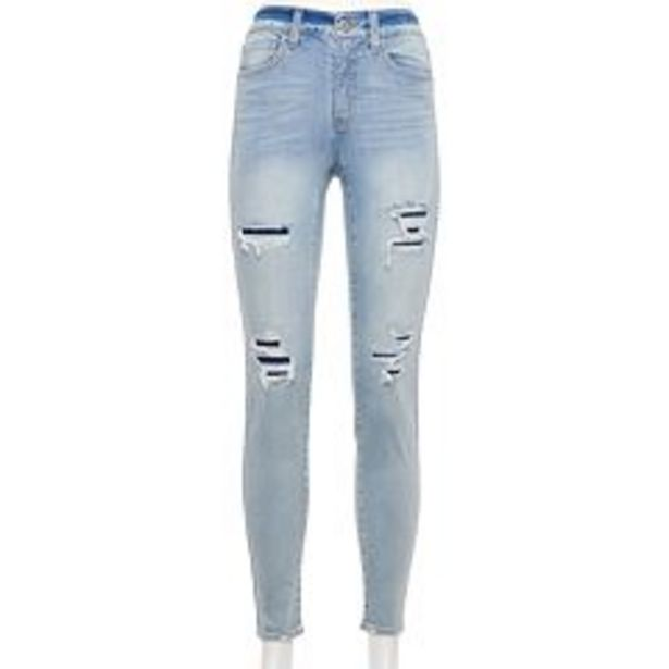 Juniors' SO® High Rise Skinny Jeans deals at $14.99