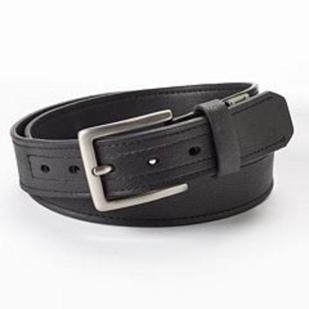 Men's Dickies Industrial Strength Leather Work Belt deals at $18