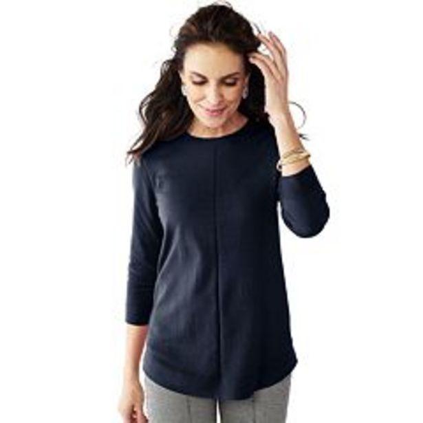 Women's Croft & Barrow® Crewneck Tunic Sweater deals at $19.99