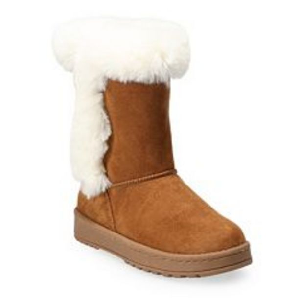 SO® Sophia Girls' Winter Boots deals at $24.99