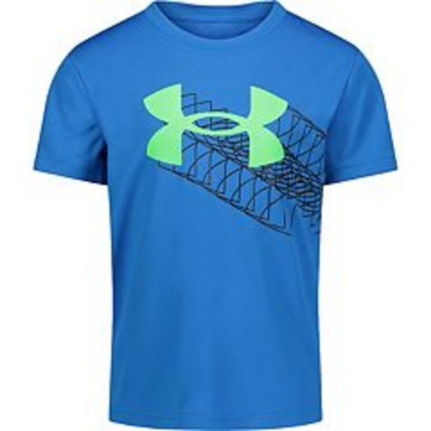 Boys 4-7 Under Armour Logo Zoom Graphic Tee deals at $5.4