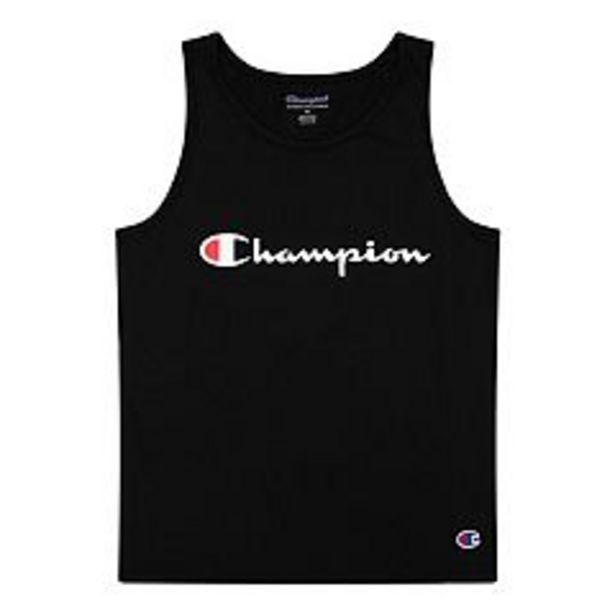 Boys 8-20 Champion® Classic Script Tank Top deals at $1.6
