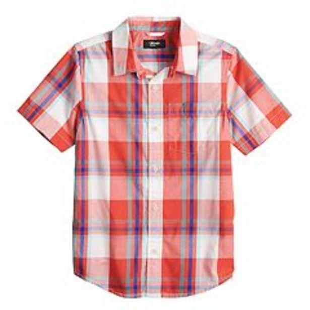 Boys 8-20 Urban Pipeline™ Plaid Button-Front Short in Regular & Husky deals at $7.8