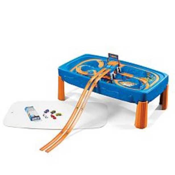 Hot Wheels Race Car & Track Play Table by Step2 deals at $119.99