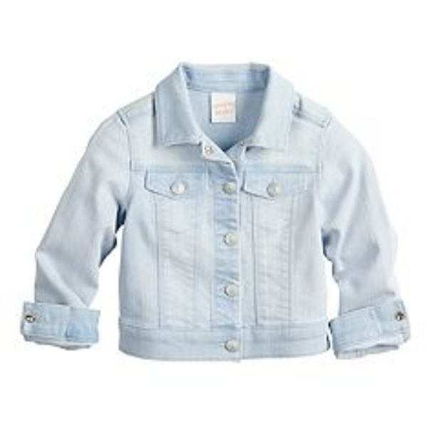 Toddler Girl Jumping Beans® Denim Jacket deals at $18