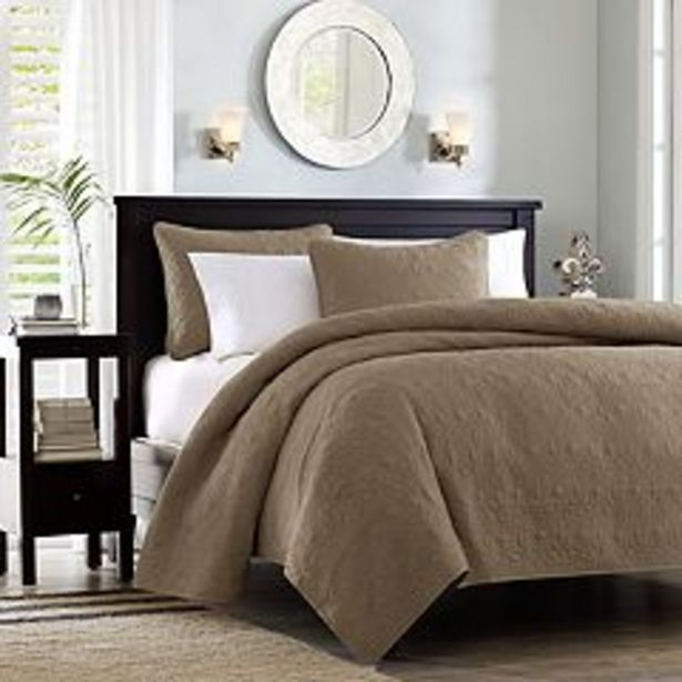 Madison Park Mansfield Quilted Coverlet Set deals at $67.49