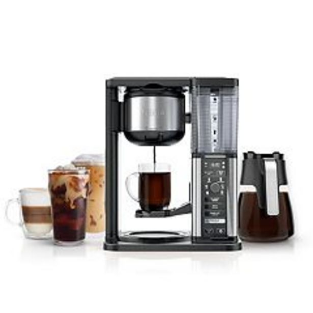 Ninja Specialty Coffee Maker with Glass Carafe CM401 deals at $169.99