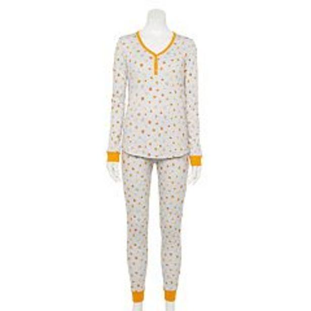 Women's LC Lauren Conrad Jammies For Your Families® Halloween Harvest Pajama Set deals at $25
