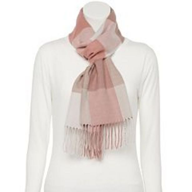 Women's Softer Than Cashmere Plaid Scarf deals at $11.99