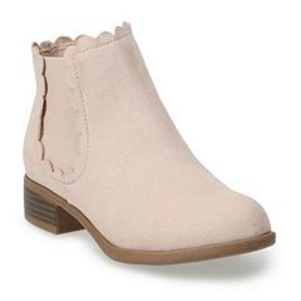 SO® Upbeat Girls' Chelsea Boots deals at $24.99