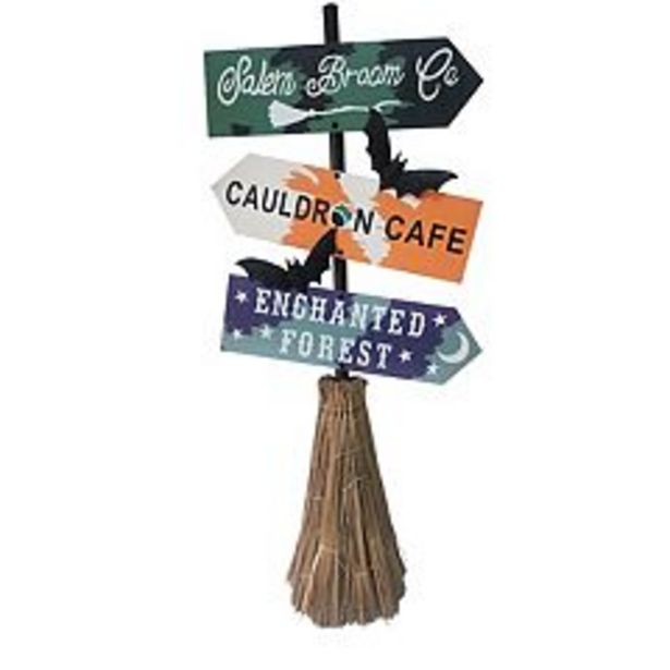 Celebrate Halloween Together Spooky Signs Entryway Floor Decor deals at $39.99
