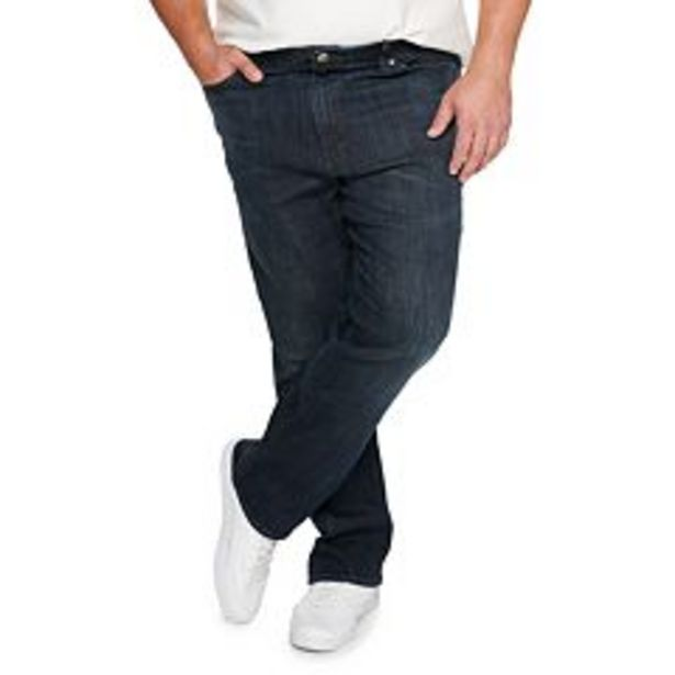 Men's Lee® Extreme Motion MVP Relaxed-Fit Straight-Leg Jeans deals at $49.99
