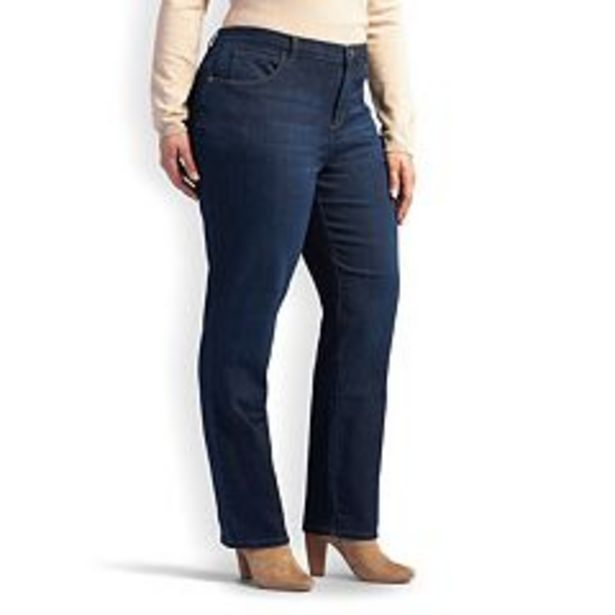 Plus Size Lee® Relaxed Fit Straight-Leg Jeans deals at $34.99