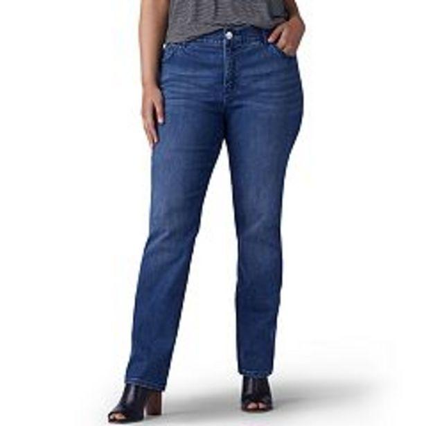 Plus Size Lee® Flex Motion Straight-Leg Jeans deals at $54