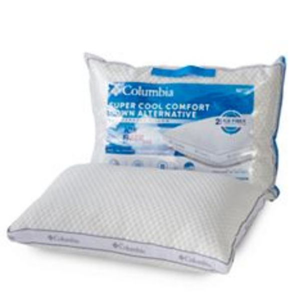 Columbia Ice Fiber Side Sleeper Down-Alternative Pillow deals at $35.99