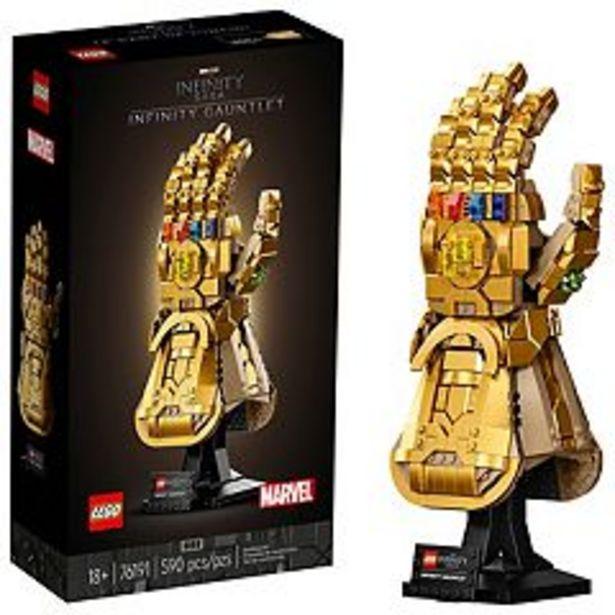 LEGO Marvel Infinity Gauntlet 76191 Building Kit (590 Pieces) deals at $69.99