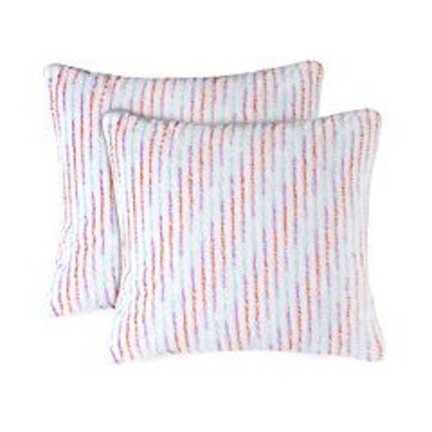 The Big One® Printed Plush 2-pack Throw Pillow Set deals at $11.99