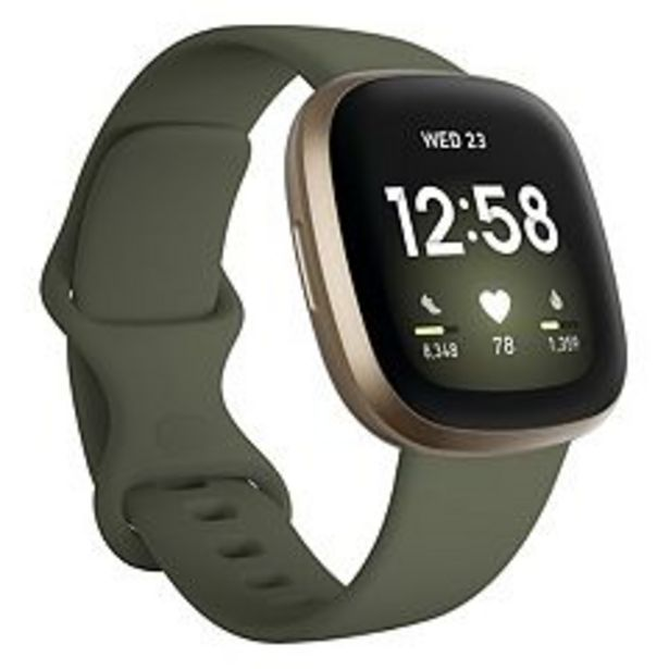 Fitbit Versa 3 Smartwatch - Kohl's Exclusive Color deals at $229.99