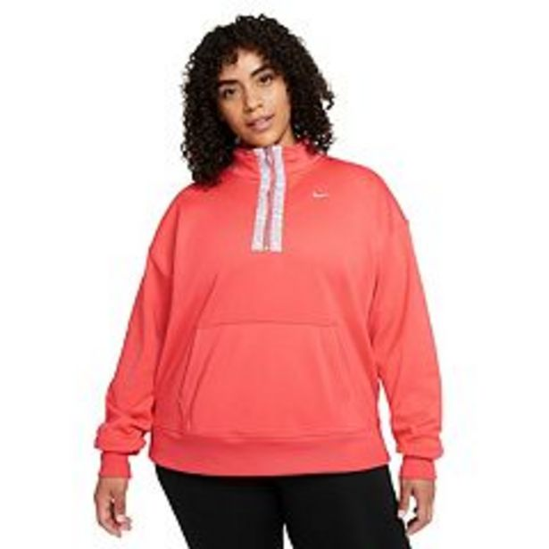 Plus Size Nike Therma-FIT Half-Zip Training Top deals at $60