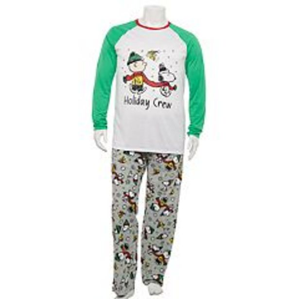 Big & Tall Jammies For Your Families® Peanuts Pajama Set deals at $37.8