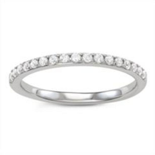 Simply Vera Vera Wang 14k Gold 1/4 Carat T.W. Diamond Wedding Band deals at $1000
