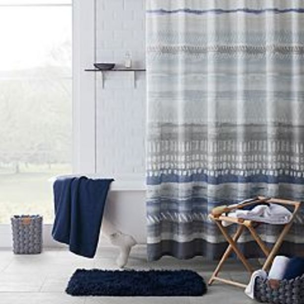 Koolaburra by UGG Thea Pattern Shower Curtain Collection deals at $14