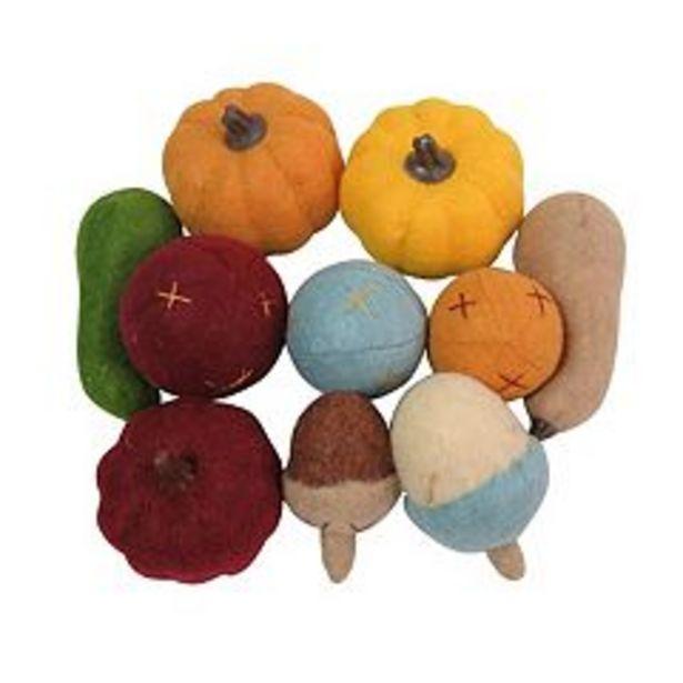 Celebrate Fall Together Felt Pumpkin Acorn Vase Filler deals at $14.99