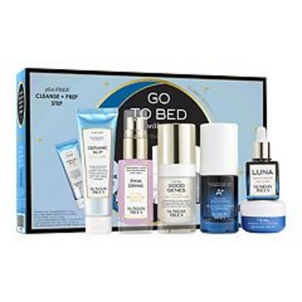SUNDAY RILEY Go To Bed With Me Complete Anti-Aging Night Routine deals at $93