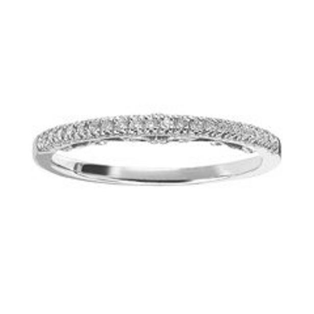 Simply Vera Vera Wang 14k Gold 1/8 Carat T.W. Diamond Wedding Ring deals at $400