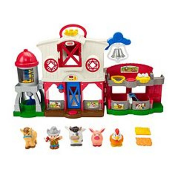Fisher-Price Little People Caring for Animals Farm deals at $39.99