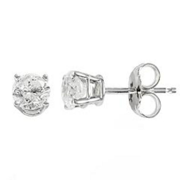 14k Gold 3/4 Carat T.W. Diamond Stud Earrings deals at $660