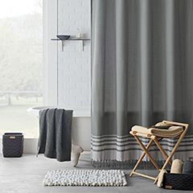 Koolaburra by UGG Lova Stripe Shower Curtain Collection deals at $14