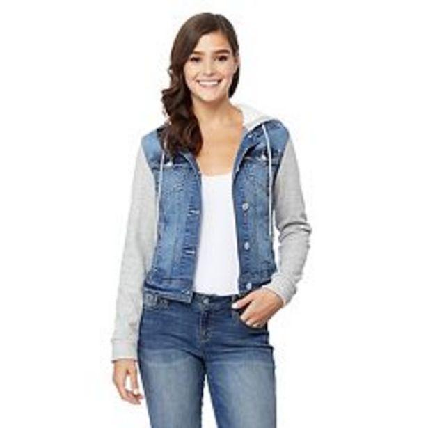 Juniors' Wallflower Knit Sleeve Dreamer Jacket deals at $60