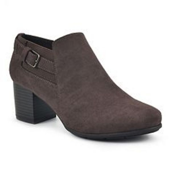 Croft & Barrow® Grapesoda Women's Block Heel Ankle Boots deals at $44.99