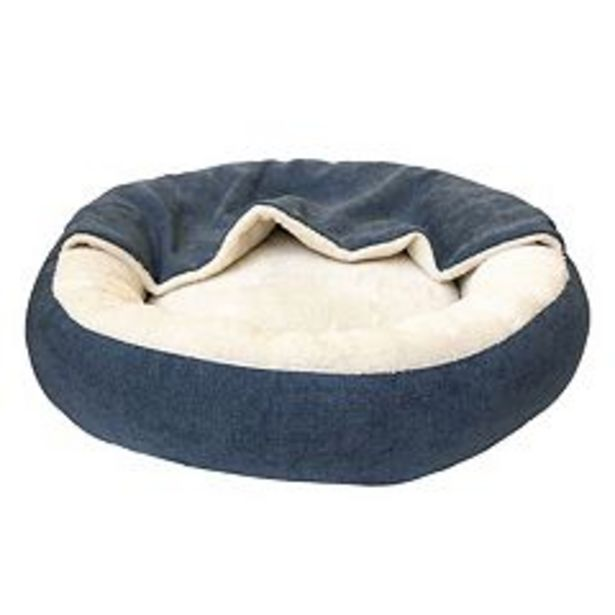Woof Round Bed with Cover deals at $17.99
