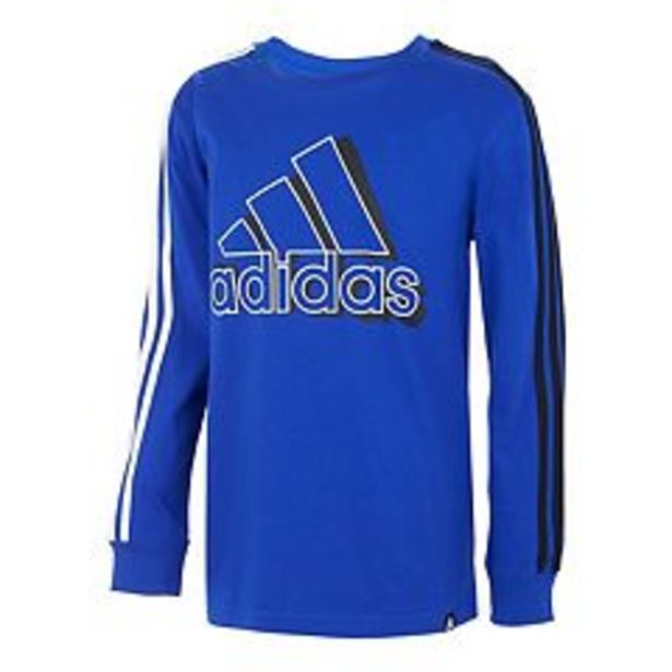 Boys 8-20 adidas Split 3-Stripes Tee deals at $18.75
