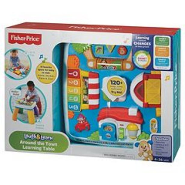 Fisher-Price Laugh & Learn Around the Town Learning Table deals at $33.99