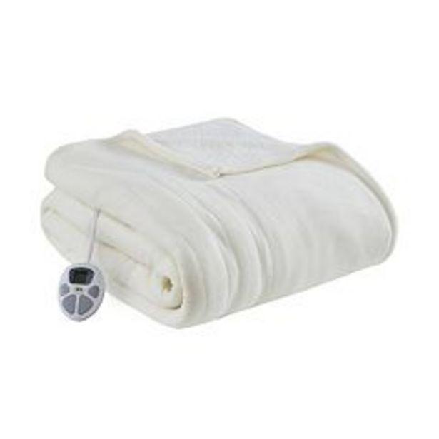 Serta® Fleece to Sherpa Heated Blanket deals at $112.49