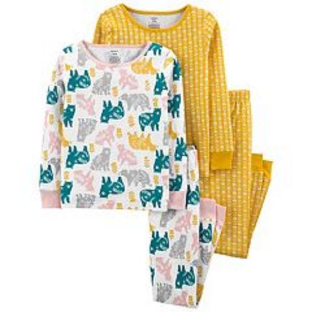 Girls 4-14 Carter's 4-Piece Pattern Snug Fit Cotton Pajama Set deals at $26.4